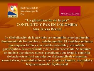 Red Nacional de Iniciativas por la Paz