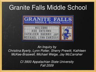 Granite Falls Middle School
