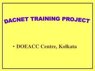 DOEACC Centre, Kolkata
