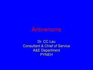 Antivenoms