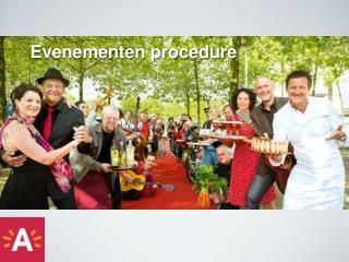 Evenementen  procedure