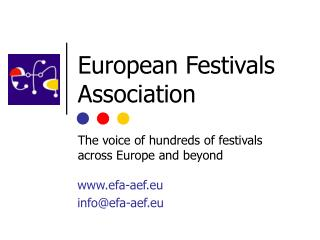 European Festivals Association