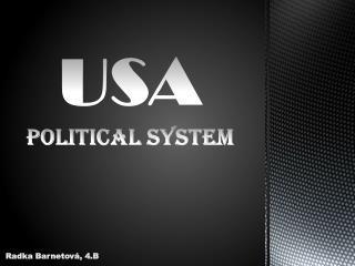 USA POLITICAL SYSTEM