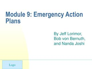 Module 9: Emergency Action Plans