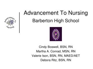 Advancement To Nursing