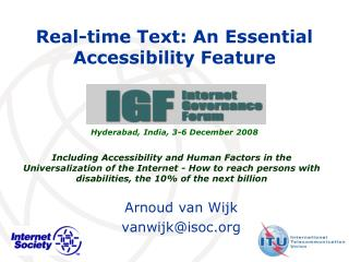 Real-time Text: An Essential Accessibility Feature