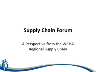 Supply Chain Forum