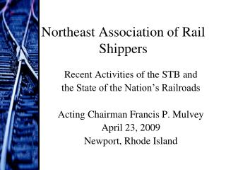 Northeast Association of Rail Shippers