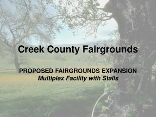 Creek County Fairgrounds