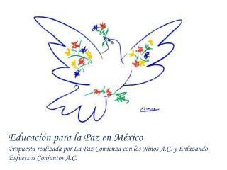 Educaci�n para la Paz en M�xico