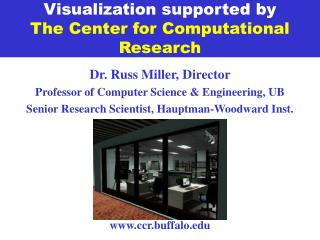 Visualization supported by The Center for Computational Research