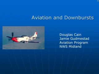 Aviation and Downbursts