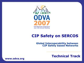 CIP Safety on SERCOS