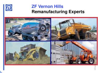 ZF Vernon Hills Remanufacturing Experts