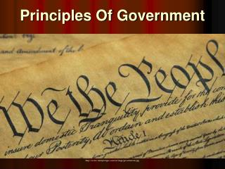 Principles Of Government