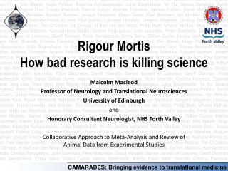 Rigour Mortis How bad research is killing science