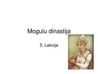 Mogulu dinastija