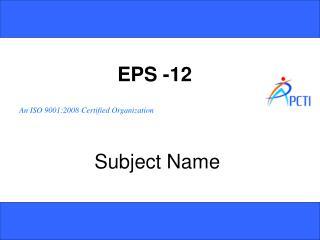 EPS -12