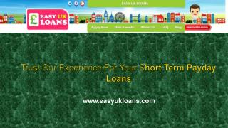Short term payday loans