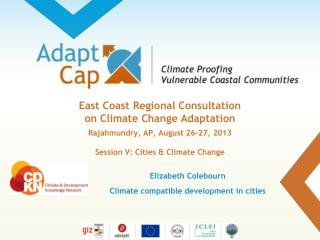 Elizabeth Colebourn Climate compatible development in cities