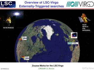 Overview of LSC-Virgo  Externally-Triggered searches