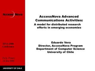 AccessNova Advanced Communications Activities: