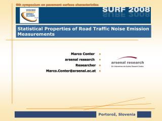 Statistical Properties of Road Traffic Noise Emission Measurements