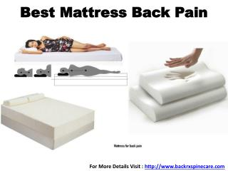 Best Mattress Back Pain in Mumbai, India
