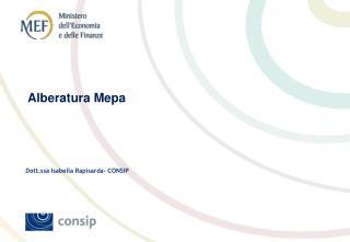Dott.ssa Isabella Rapisarda- CONSIP