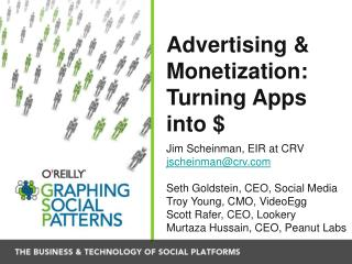Advertising & Monetization: Turning Apps into $