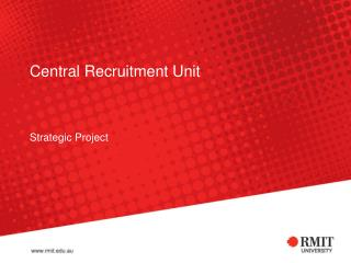 Central Recruitment Unit