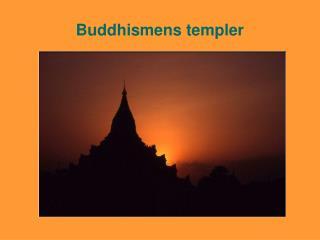 Buddhismens templer