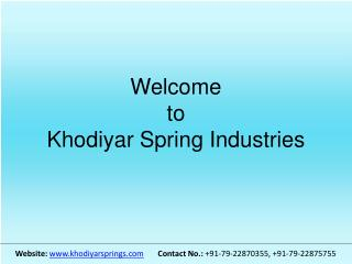 Spiral Springs | Spiral Springs Manufacturers | Suppliers