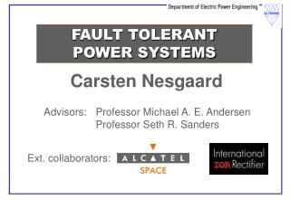 FAULT TOLERANT POWER SYSTEMS