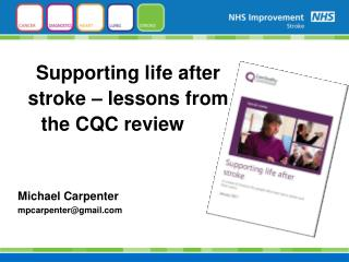 Supporting life after stroke – lessons from the CQC review