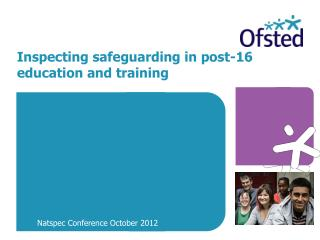 Inspecting safeguarding in post-16 education and training