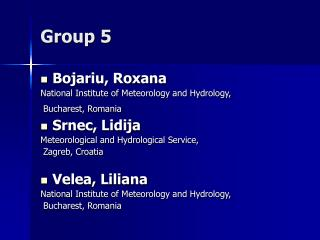 Group 5