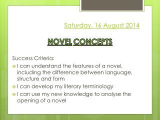 Saturday, 16 August 2014