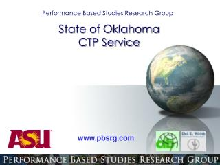 Performance Based Studies Research Group