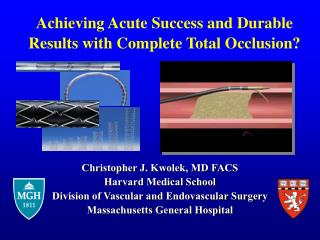 Achieving Acute Success and Durable Results with Complete Total Occlusion?