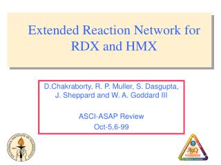 Extended Reaction Network for RDX and HMX