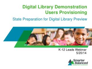 Digital Library Demonstration  Users Provisioning