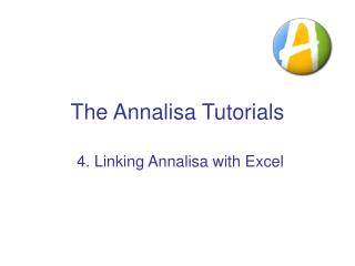The Annalisa Tutorials