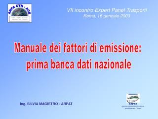 Centro Tematico Nazionale Atmosfera Clima Emissioni