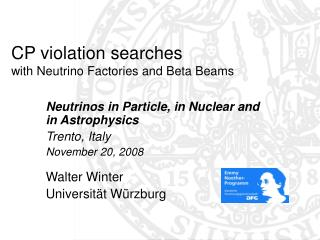 CP violation searches  with Neutrino Factories and Beta Beams
