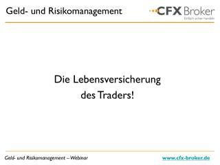 Geld- und Risikomanagement