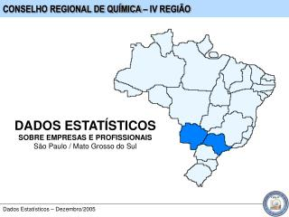 CONSELHO REGIONAL DE QUÍMICA – IV REGIÃO