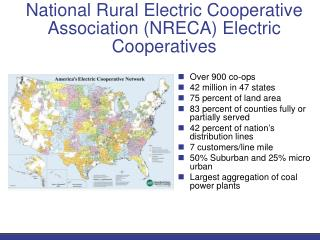 National Rural Electric Cooperative Association (NRECA) Electric Cooperatives