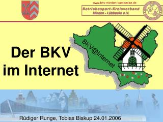 Der BKV im Internet