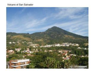 Volcano of San Salvador